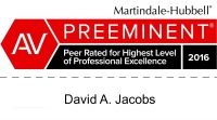 David A. Jacobs Martindale-Hubbell Review